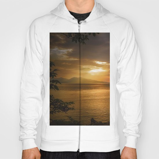 Sunset at Lismore Island Hoody
