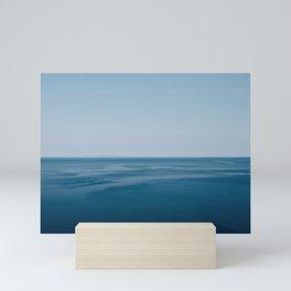 Calm, blue sea   Greece, Kefalonia   Travel photography   Fine Art Print Mini Art Print