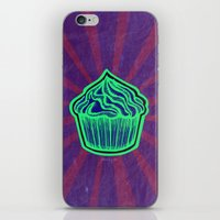 cupcake iPhone & iPod Skins featuring Cupcake by Meyyen