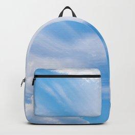 Beautiful blue skies Backpack