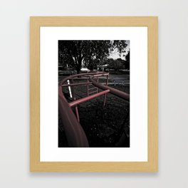 Old School Yard #4 Framed Art Print