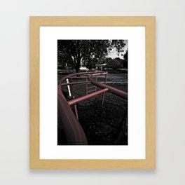 Old School Yard #4 Framed Art Print