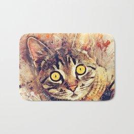 Cat Tigger Bath Mat