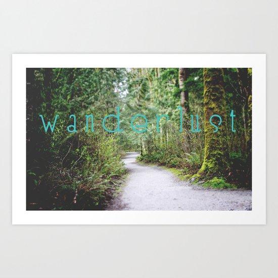 Wanderlust II Art Print