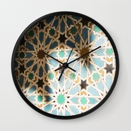 Arches of the Alcazar Wall Clock