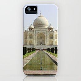 Taj Mahal iPhone Case