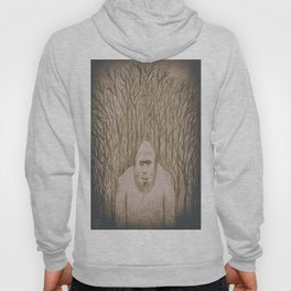 Sasquatch in the woods Hoody