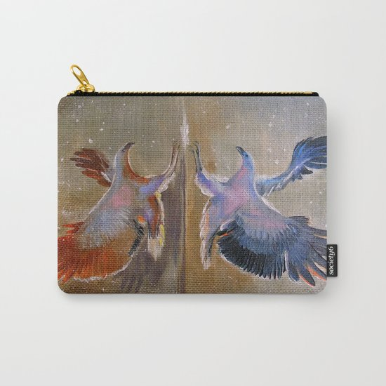 eagle hunting Carry-All Pouch