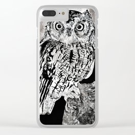 Hoot Clear iPhone Case