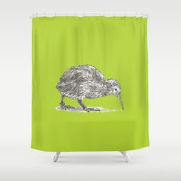 Kiwi Bird Shower Curtain
