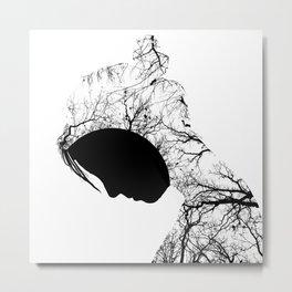 Sullen Metal Print