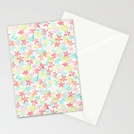 Watercolor Rainbow Stationery Cards