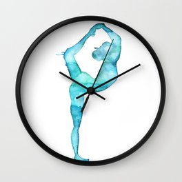 The lord of the dance yoga Wall Clock