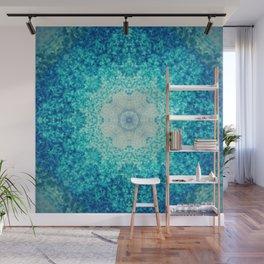 Blue Waves Wall Mural