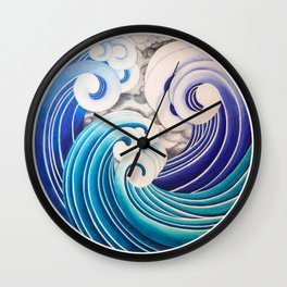 Portal in the Storm I Wall Clock
