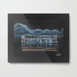 The friendship with Border Metal Print