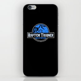 Raptor Trainer iPhone Skin