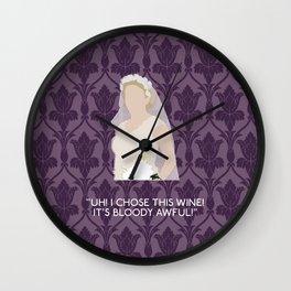 The Sign of Three - Mary Morstan Wall Clock