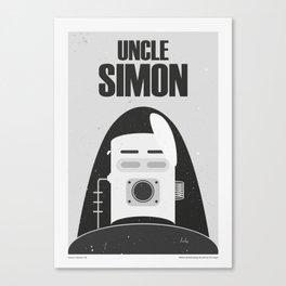 """The Twilight Zone"" Uncle Simon Canvas Print"