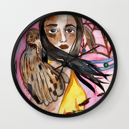 Wheel of Dreams Wall Clock