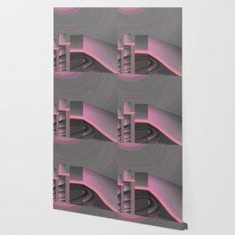 Claraboya, Geodesic Habitacle, Pink neon room Wallpaper