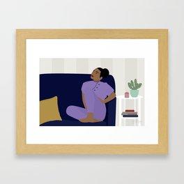Musings Framed Art Print