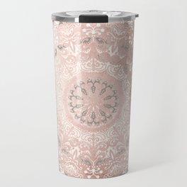 Dreamer Mandal Rose Gold Travel Mug