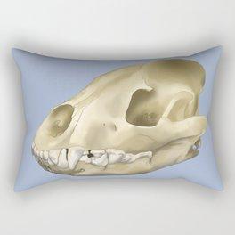 hyena skull Rectangular Pillow