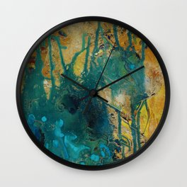 The Canyon (Piece 2) Wall Clock