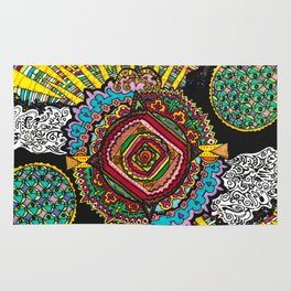 What spins is spun Rug