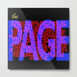 The Page Metal Print
