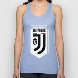 Slogan Juventus Unisex Tank Top
