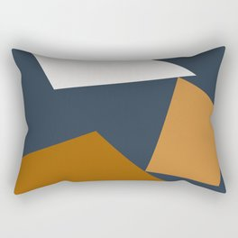 Abstract Geometric 25 Rectangular Pillow