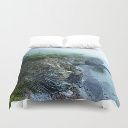 Cliffs and Coves Duvet Cover
