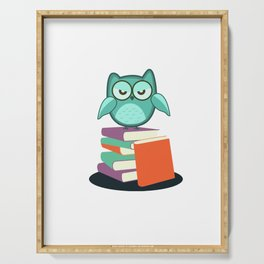 Introvert Books Readers Bookworms Reading Introversion Literature Gift Serving Tray