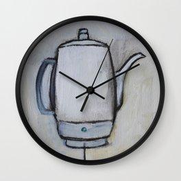 Coffee Pot - Percolator  Wall Clock