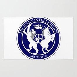 MI6 Logo Button Rug