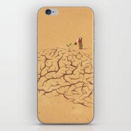 Dry Brain iPhone Skin