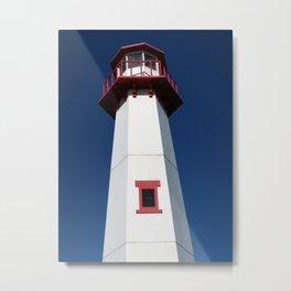 Wawatam Lighthouse Metal Print