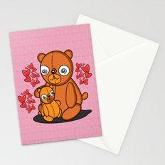 Mom's Bear Love Stationery Cards