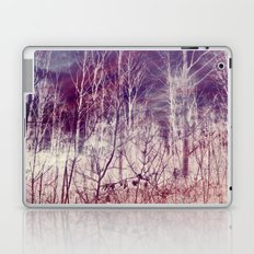 Winter Forest Changing sky Laptop & iPad Skin