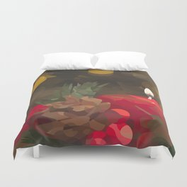 Holiday Warmth Duvet Cover