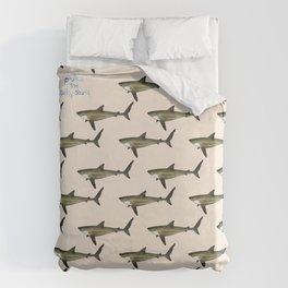 Silky Shark Duvet Cover