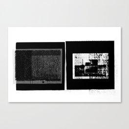 DUPLICITY / 01 Canvas Print