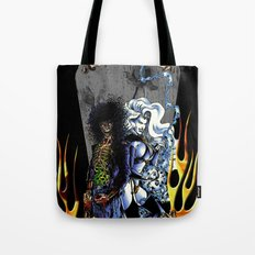 Unhappily Ever After - Lady Death & Evil Ernie Tote Bag