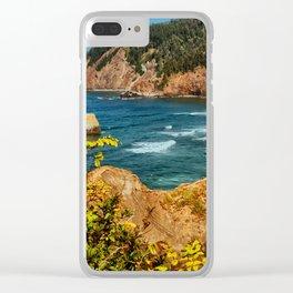 Landscape Ecola State Park Clear iPhone Case
