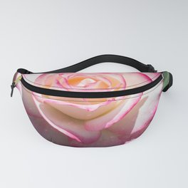 Pink and White Rose with a little magic Star Dust Fanny Pack