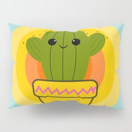 Cute cactus Pillow Sham