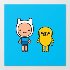 #48 Jake and Finn Canvas Print
