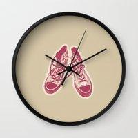 converse Wall Clocks featuring Converse by Enrique Parra Aldama